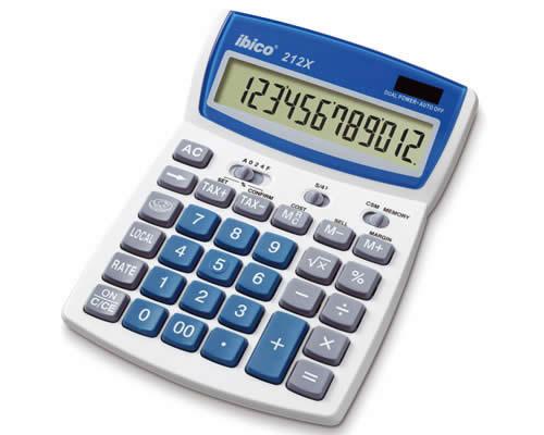Calculadora IBICO 212X 12 dígitos (IB410086)