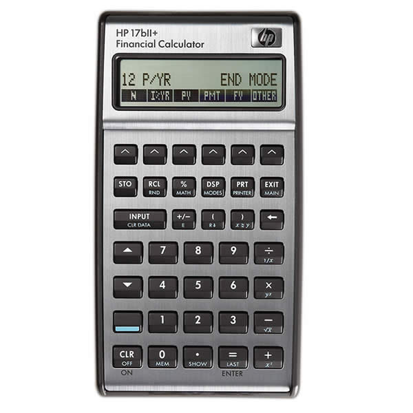 CALCULADORA FINANCIERA HP 17BIIPLUS/B17
