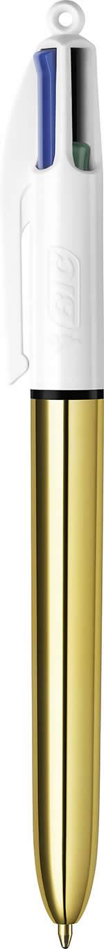 BOLIGRAFO BIC 4 COLORES SHINE ORO (964774)