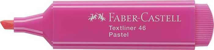 Fluorescente FABER CASTELL Textliner colores pastel