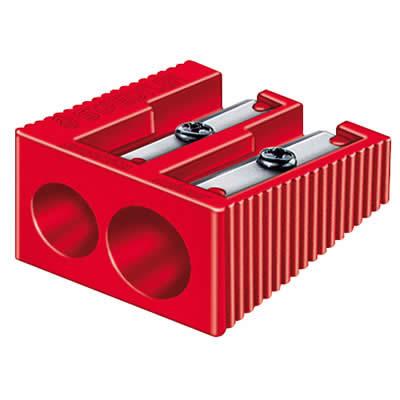 AFILALAPIZ STAEDTLER PLASTICO RECTANGULAR DOBLE (510 60KP50)