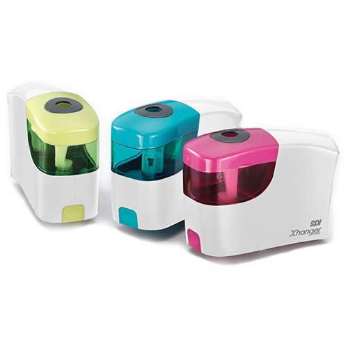 Afilalápices OFFICE BOX eléctrico. Colores surtidos (0174)