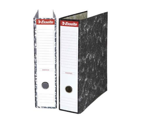 Archivador ESSELTE jaspeado tamaño A4 70 mm sin rado (46960)