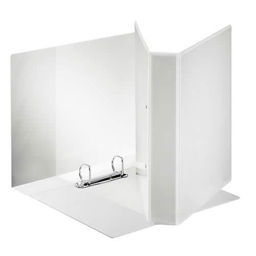 Carpeta ESSELTE canguro A4 4 anillas 50 mm bolsa transparente (49705)