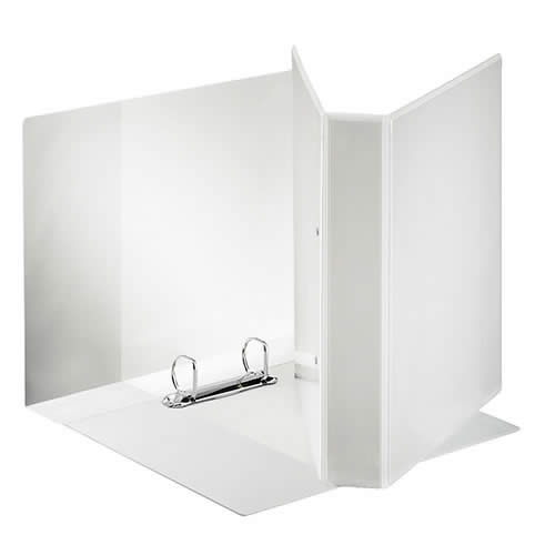 Carpeta ESSELTE canguro A4 4 anillas 60 mm bolsa transparente (49706)