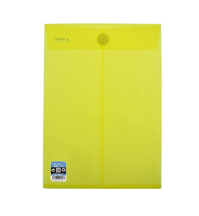 Bolsa OFFICE BOX cierre superior V-LOCK 230 x 325 mm