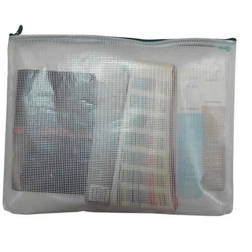 Bolsas multiusos OFFICE BOX con refuerzo tamaño 215 x 180 mm (34126)