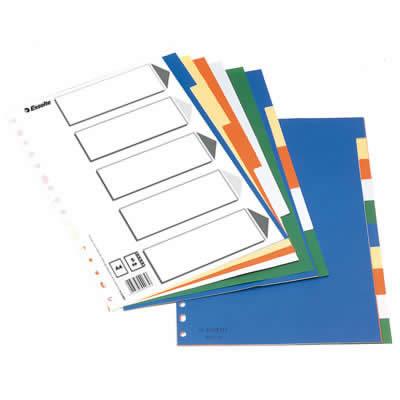 Índice ESSELTE PP tamaño Folio A-Z (47139)