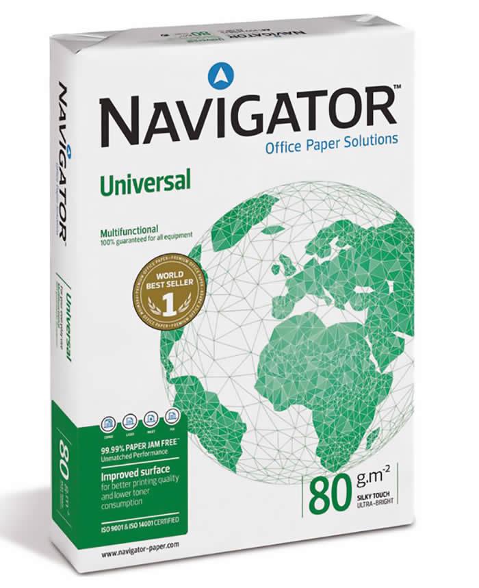 PAPEL NAVIGATOR A4 80 GRS. 500 HOJAS (108805)