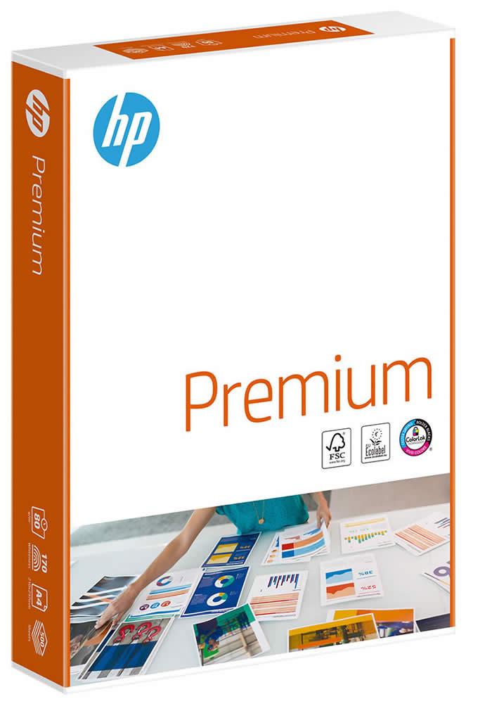PAPEL HP PREMIUM A4 80 GRS. 500 HOJAS (166514)