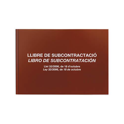 LIBRO MIQUELRIUS SUBCONTRATACION A4 20 HOJAS (5089)