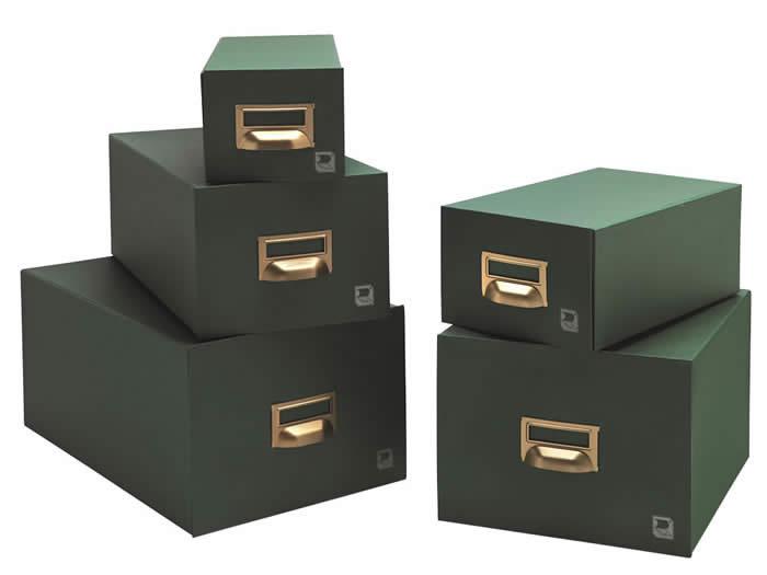 FICHERO LIDERPAPEL CARTON 500 FICHAS 65X95 MM. (03599)