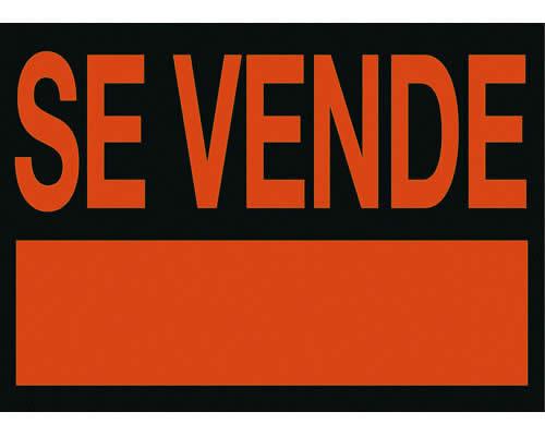 """Cartel ARCHIVO 2000 """"SE VENDE"""" 23 x 50 cm (01C6162NE)"""