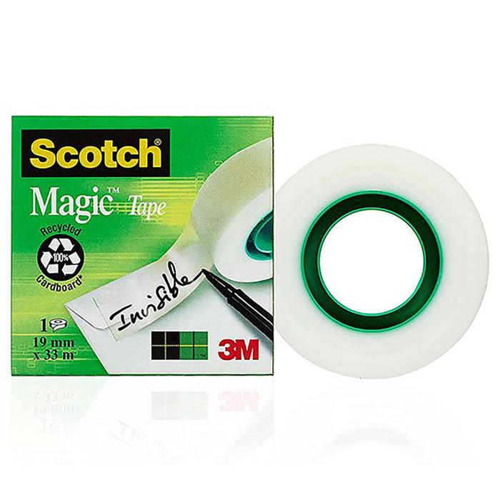 CINTA ADHESIVA SCOTCH MAGIC 33 M.X19 MM. (02068)