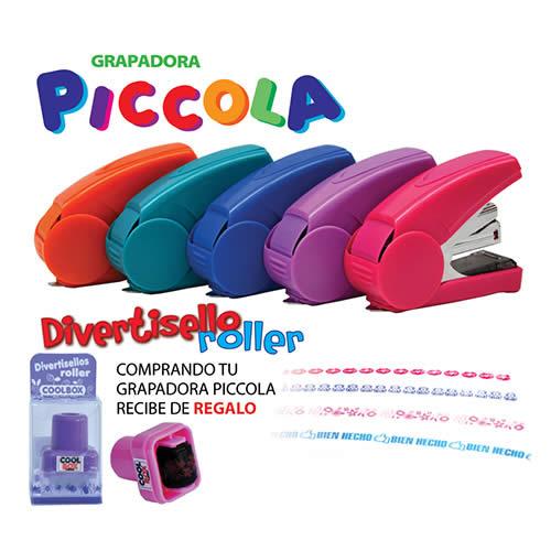 Grapadora OFFICE BOX Piccola, mínimo esfuerzo (1113)