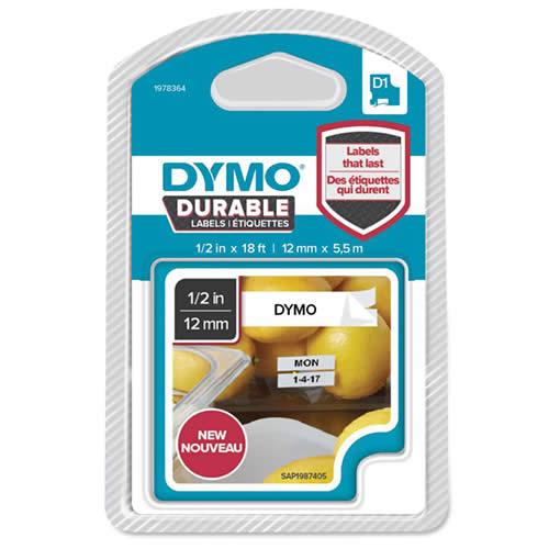 CINTA DYMO D1 DURABLE 12 MMX3M.