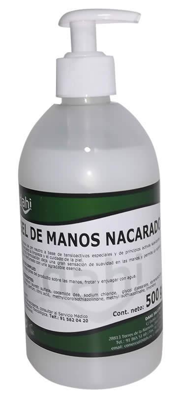 JABON MANOS 500 ML. CON DOSIFICADOR DAHI (PCH063-DJ)