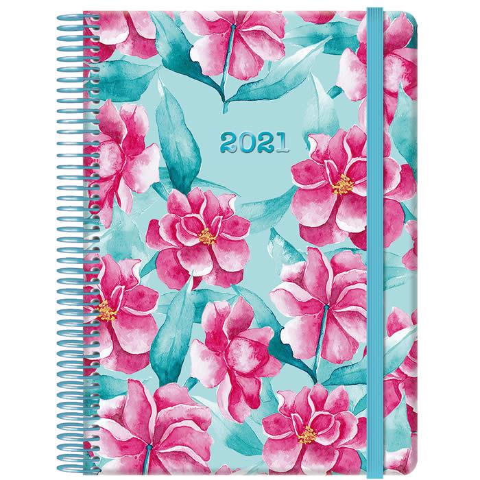 Agenda Día/Página Mod. Garden 15X21 Cm. (12655)