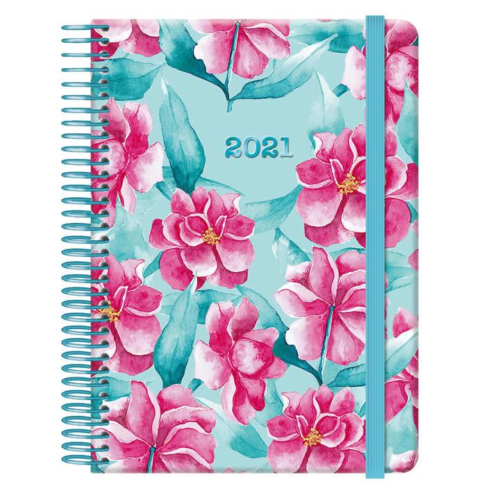 Agenda Día/Página Mod. Garden 12,5X18 Cm. (12658)
