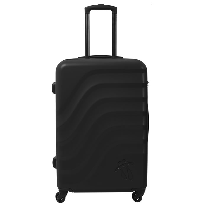 Maleta trolley mediana color negro - Bazy