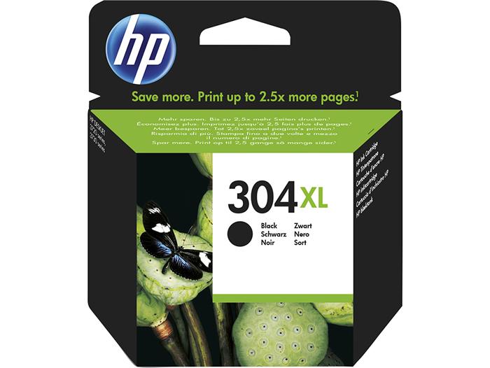 Cartucho de tinta original HP 304XL de alta capacidad negro